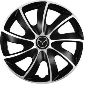 """Capace pentru roți Mazda 13"""", Quad bicolor, 4 bc"""